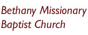 Bethany Missionary Baptist